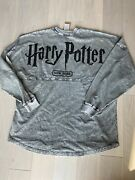 Nwt - Gray Harry Potter Nyc Exclusive Spirit Jersey - Adult L