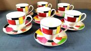 7 Set Kate Spade Gramercy Park Collection Irving Place By Lenox Cup Saucer Plate