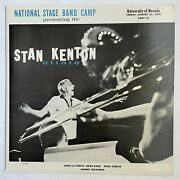 Stan Kenton Clinic National Stage Band Camp Nevada Private Press Pt 3 Dg Russ