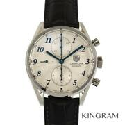 Tag Heuer Cas2111.fc6292 Carrera Heritage Chronograph Menand039s Watch From Japan