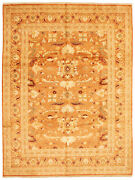 Hand-knotted Carpet 9and0390 X 11and0399 Traditional Vintage Wool Rug