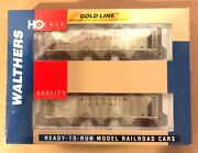 Walthers Gold Line Ho 932-27959 Ps-2 2893 Cu Ft Covered Hopper 2-pack Nib