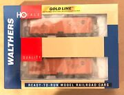 Walthers Gold Line Ho 932-22581 40' Meat Reefer 2-pack Nib