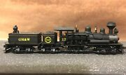 Spectrum Ho 81903 80 Ton Ghandw 3-truck Shay Steam Locomotive 17 And Tender Dcc Ob