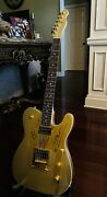 John5 Goldie Squier Telecaster Signed By Rob Zombie John5 Piggy D And Ginger