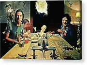 The Dinner Scene - Texas Chainsaw Movie Paper Posters Or Canvas Framed Art