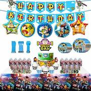 Toy Story 4 Party Supplies Birthday Decorations