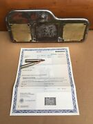 Wwii Jeep Ford Gpw Glovebox Door Historical Document Paperwork Factory Oem Rare