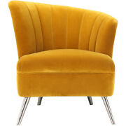 Moeand039s Home Collection Me-1042-09 Layan Yellow Accent Chair Right