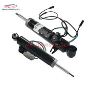 Pair Rear R+l Air Suspension Shock Absorber W/ads For Bmw E70/x5 37126788766 New
