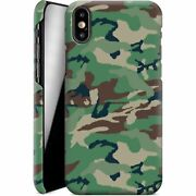 Iphone Xs - Green And Brown Camo By Caseable Designs Smartphone Hardcase