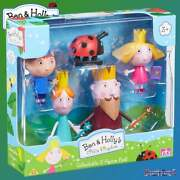 Ben And Hollyand039s Little Kingdom 5-figure Pack Inc King And Queen Thistle And Gaston