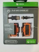 Powera Play And Charge Kit 1100mah 2 Rechargeable Battery Packs For Xbox One