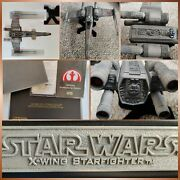 Code 3 Star Wars X-wing Starfighter Limited Edition - As Seen In The Mandalorian