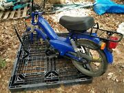 Vintage Tomos Motorcycle Scooter Moped For Parts