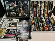 Star Wars 1977 Kenner Mini-action Figure Collector's Case + 25 Figures
