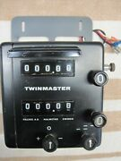 Halda Twinmaster With Sought After Metal Case, Custom Protective Hood And Bracket