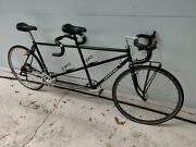 Santana Tandem Bicycle Classic Loaded With Great Parts Black Tuned Up