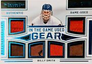 Billy Smith 6 Relic 2020-21 Leaf In The Game Used Gear Patch Swatch Memorabilia