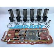 New 1006e-6tw Overhaul Kit With Gasket Set For Perkins Diesel Engines