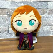 Rare Disney Frozen 2 Anna Moipon Plush Doll Limited To Japan 6.3in