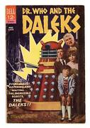 Doctor Who And The Daleks Movie Classics 612 Vg+ 4.5 1966 1st App. Doctor Who