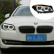 For Bmw 5series F18 F10 11-17 Led Headlight Assembly Led Drl Yellow Turn Signal