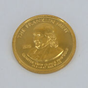 1/4 Troy Ounce Gold .999 Fine 1979 Franklin Mint Round