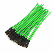13cm Car Speaker Wire Wiring Terminal Adapter Harness Connector Green 20pcs