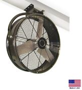 Circulation Fan Ceiling Mounted - 48 - 1 Hp - 230v - 1 Phase - 19100 Cfm
