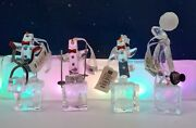 Dept 56 Penguin On Ice Cube 24 Assorted Ornaments Retail 120