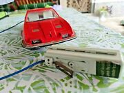 Vintage Gama Toy Car Citroen Meserati 114 Battery Operated Germany For Parts
