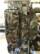First Issue Woodland Bdu Shirt Pants Cold War Size Xl L Pre Grenada Extra Large