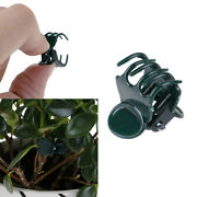 100x/bag Garden Plant Support Clips Flower Orchid Stem Clips For Vine Suy Ih