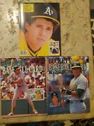 Beckett Baseball Card Monthly Magazine July '88, Nov '88, Oct '90 Jose Canseco