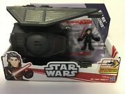 Galactic Heroes Star Wars The Last Jedi Kylo Ren And Tie Silencer Vehicle New