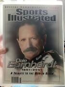 2001 Sports Illustrated Dale Earnhardt Special Commemorative Issue Nascar