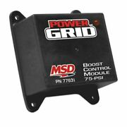 Msd 77631 Power Grid Ignition System Boost Control Module New