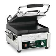 Waring Tostato Perfetto Compact Flat Toasting Grill W Timer 120v 9.75 X 9.25