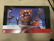 Dc Collectibles Batman The Animated Series Batcave With Alfred New Never Opened