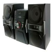 Mini Stereo Bluetooth Home Music System W/ Fm Tuner Led Lights Cd Player Usb