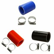 For Yamaha Blaster High Temp Silicone Exhaust Clamp Yfs 200 1id Blue+red+black