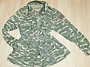 Torrid Womenand039s Ladies Military Utility Drawstring Jackets Army Green Field Camo