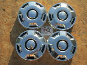 1980and039s-90and039s Ford 1/2 Ton Pickup Truck Van Dog Dish Hubcaps Set Of 4