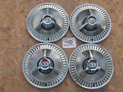 1964 Ford Galaxie 500 Xl 14 Spinner Wheel Covers Hubcaps Set Of 4