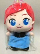 Rare Disney The Little Mermaid Ariel Moipon Plush Doll Limited To Japan 6.3in 2