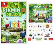 Switch-pikmin 3 Deluxe /switch Uk Import Game New