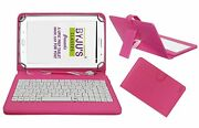 Usb Keyboard Case, Tablet Cover Stand For Byju Learning Tab 10 Inch With Micro