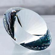 50-200mm Huge Crystal Diamond Glass Cut Home Decor Personalized Ornaments Gifts
