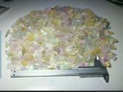 2200-gm Beautiful Natural Mix Color Kunzite Crystal Rough Lot From Afghanistan